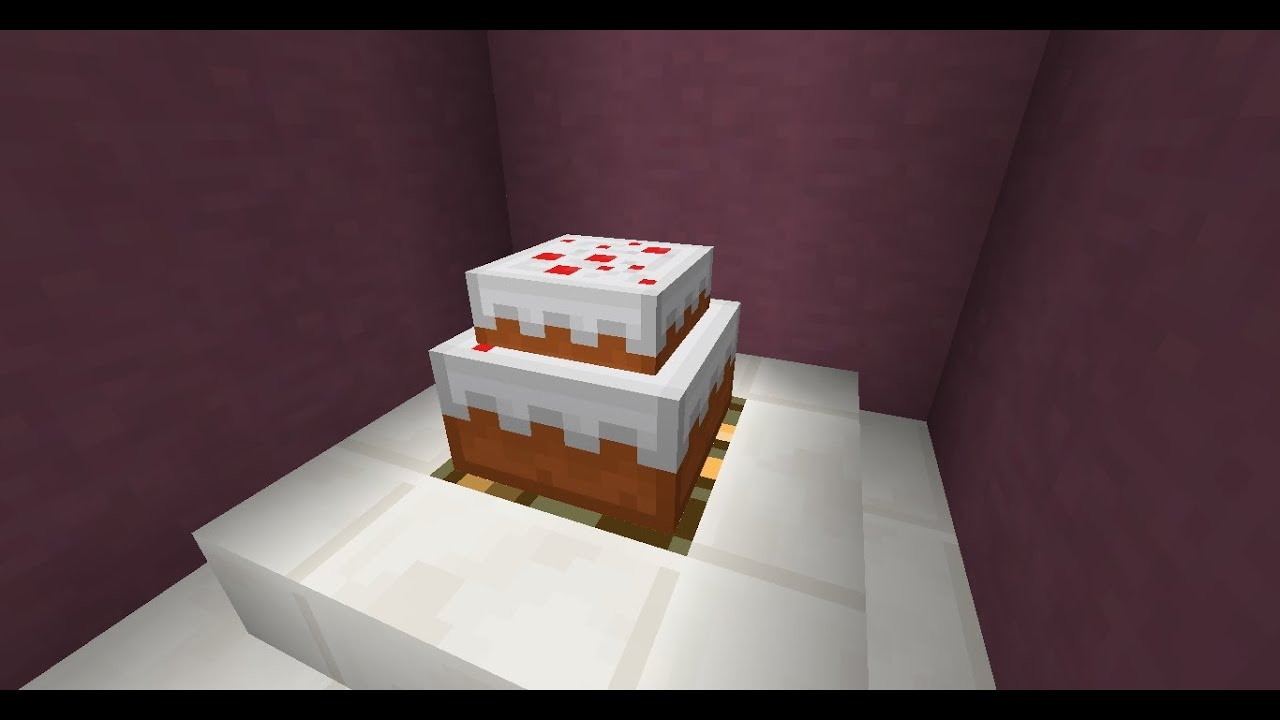 minecraft wedding cake two tier cake in vanilla minecraft 17387
