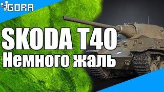 Skoda T 40. Немного жаль...