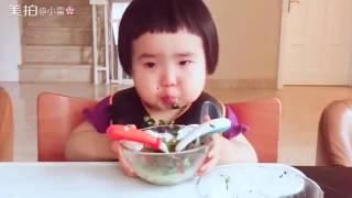 Девочка, Которая Любит Кушать.