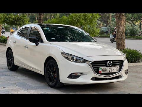 Bán xe ô tô cũ 5 chỗ Mazda 3 kiểu dáng sedan màu trắng