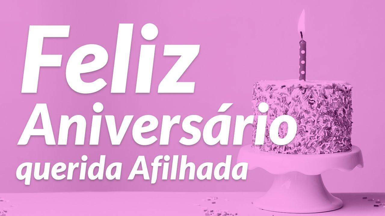 Recados De Feliz Aniversario: Mensagem De Feliz Aniversário De Madrinha Para Afilhada