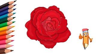 как нарисовать розу карандашом how to draw a rose #draw(как нарисовать розу карандащом how to draw a rose #draw Дети часто хотят нарисовать розу. Особенно на праздники. Они..., 2016-07-04T14:09:10.000Z)