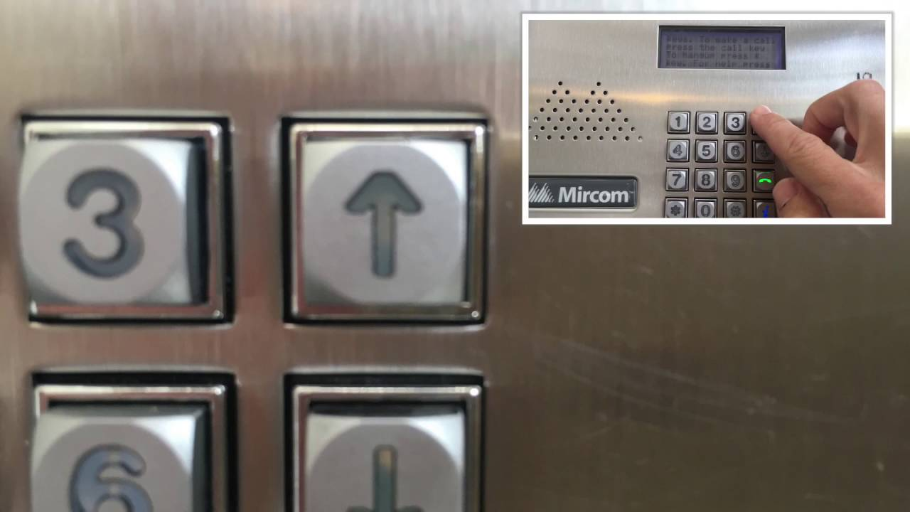 Instructions For Mircom Intercom Panel