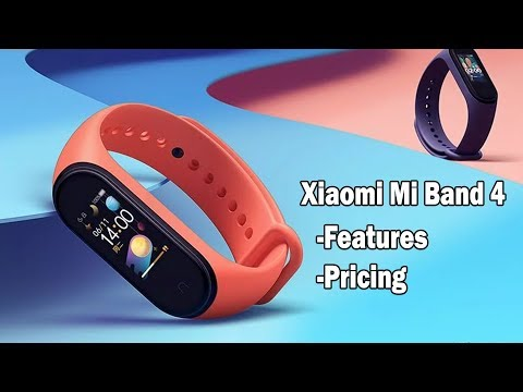 Mi Band 4 Features, Specs and Pricing with buying link | English