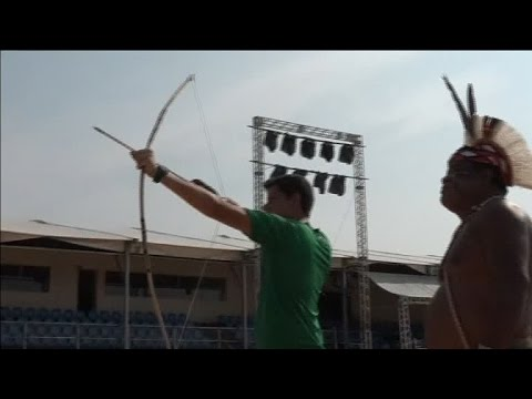 World Indigenous Games 2015: Brazilian Olympic archer