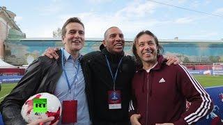 Экс звезда «Ливерпуля» спел «Калинку» с Мостовым