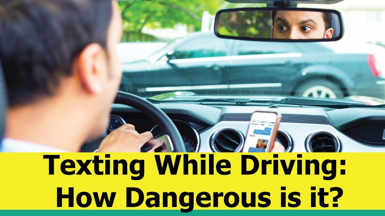 Dangers Of Texting And Driving >> Texting While Driving How Dangerous Is It