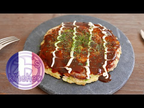 galette-japonaise-okonomiyaki-|-recette-japonaise-|-wa's-kitchen