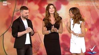 Simone Belli   Trucco Da Star   Alba Parietti    Detto Fatto 16/09/2019