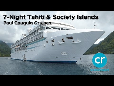 Paul Gauguin Cruises Tahiti & Society Islands