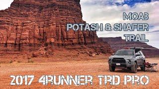 (Part19) 2017 4Runner TRD PRO Cement. Moab POTASH & SHAFER Trail in 16 Min. FUN!