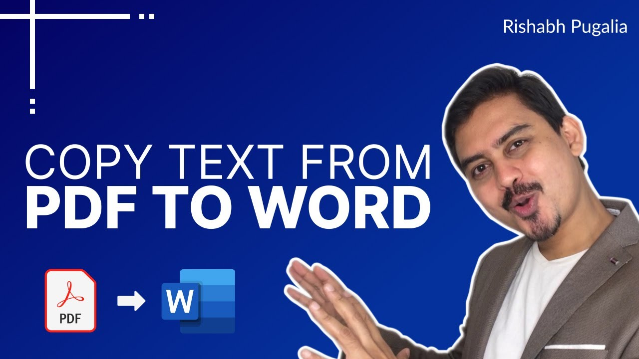 Copy Text from PDF without Line Breaks & Words Tricks