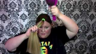 How to beautifully cut your own hair (M by Mickie)(So you think you can't cut your own hair- wrong! You can! Follow the simple steps in this video and discover the beautiful results! When I discovered how to cut ..., 2014-03-31T15:58:57.000Z)