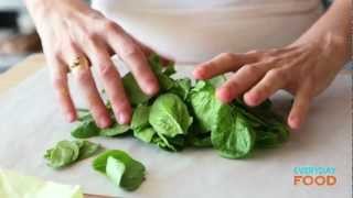 Salmon And Spinach In Parchment | Everyday Food With Sarah Carey