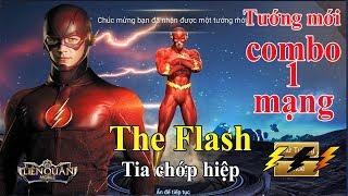 Liên Quân The Flash tia chớp hiệp Tướng sát thủ mới murad phiên bản 2.0 the flasht liên quân mobile