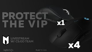 NEXUS CSGO PROTECT THE VIP - POWERED BY LOGITECH
