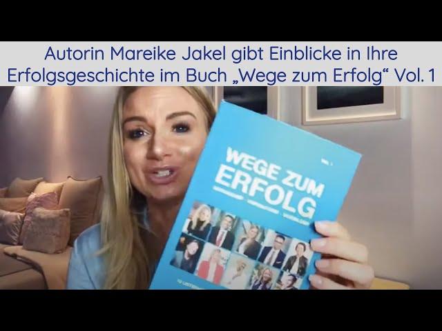Lesung von Autorin Mareike Jakél. Sie gibt Einblicke in Ihre Erfolgsgeschichte.