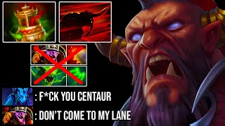 SUPERMAN TANKY What A Monster | 75% Damage Return Scepter Centaur Warrunner 7.23 Dota 2