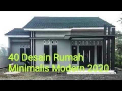 40 Desain Rumah Minimalis Modern 2020 Youtube