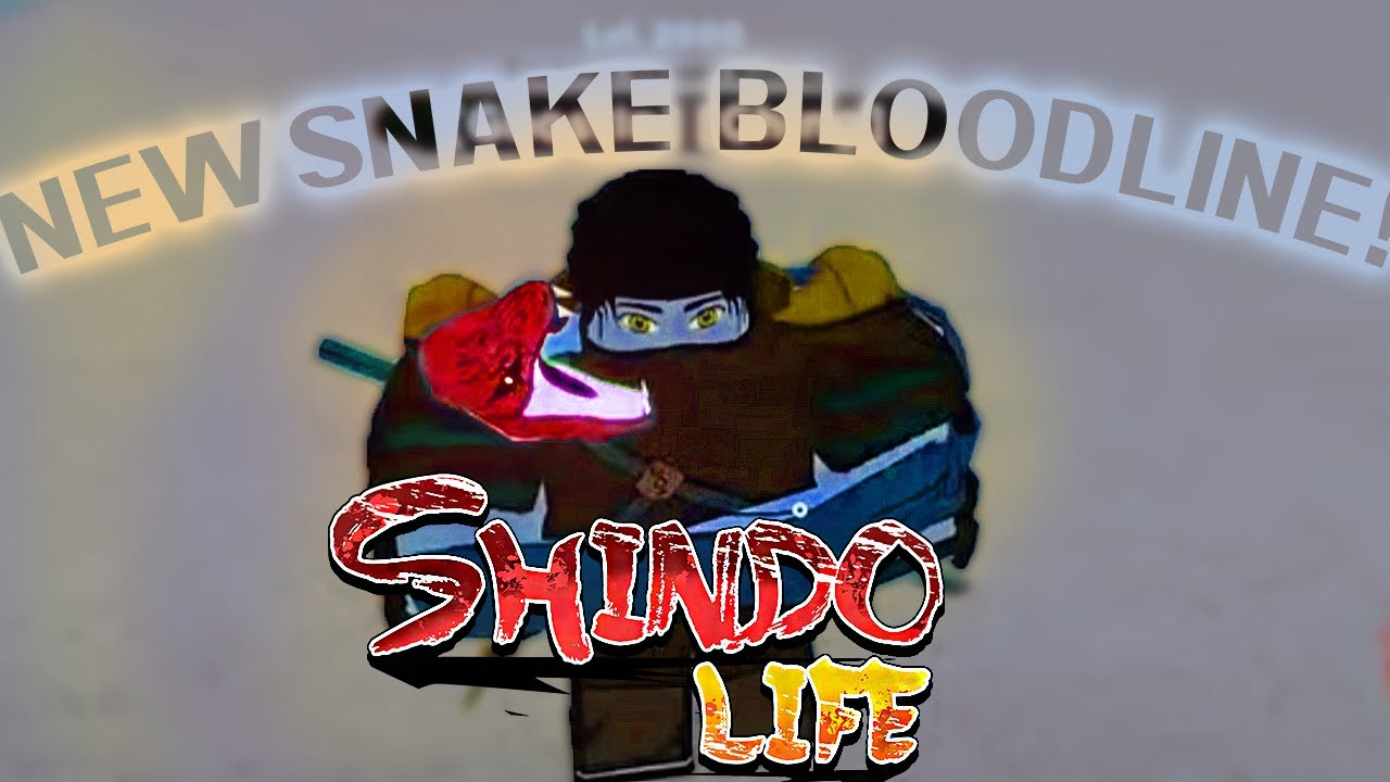 Download [CODE] New Orochimaru Snake Bloodline In Shindo Life!