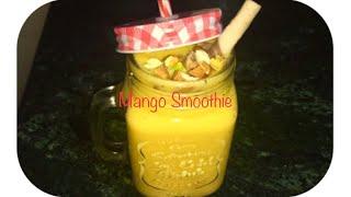 Mango Creamy Smoothie Recipe by RJ Kitchen