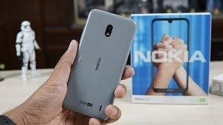 Nokia 2.2 Unboxing, Hands on, Steel Variant Physical Overview - Budget Android One Phone