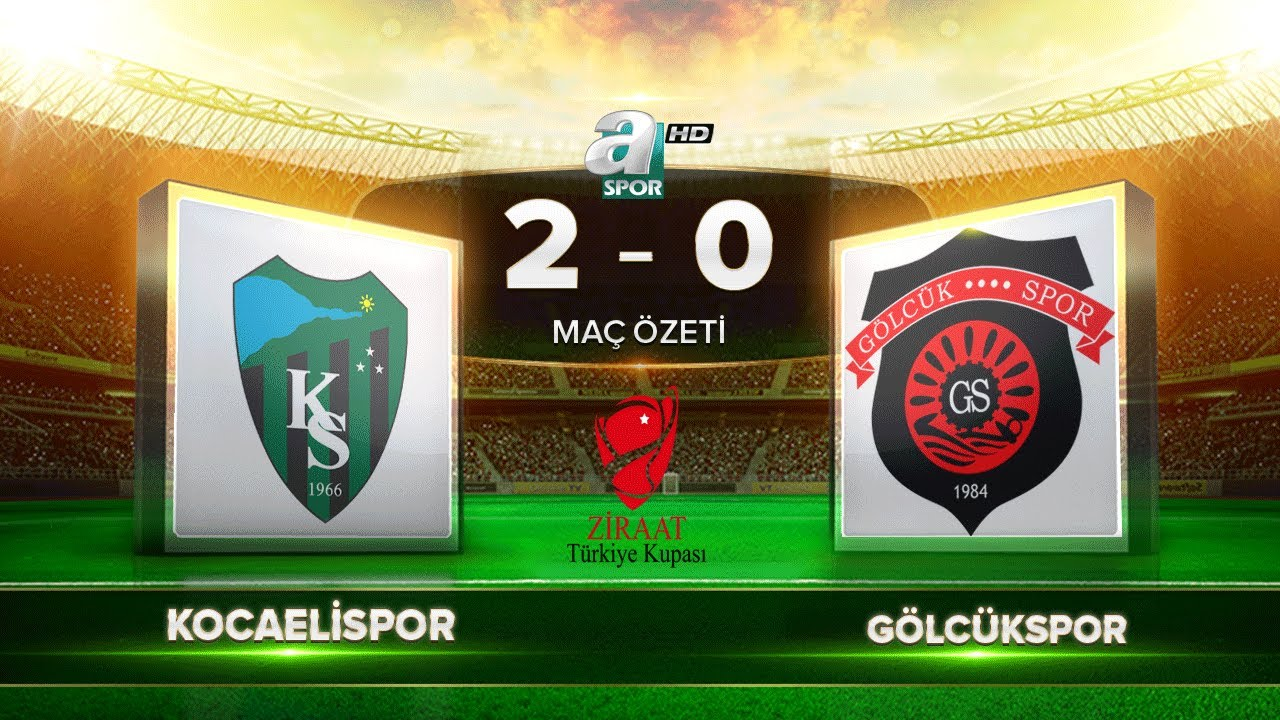Kocaelispor 2-0 Gölcükspor   A Spor   Maç Özeti