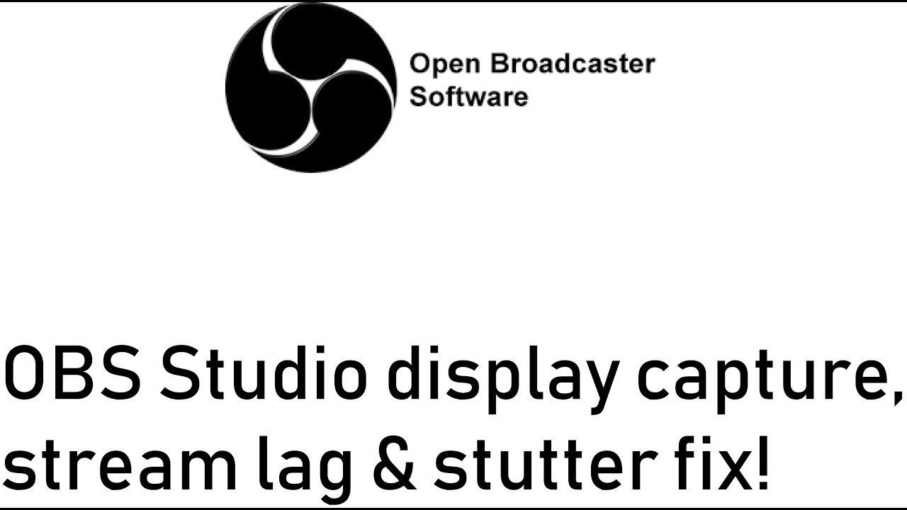 OBS Stream Lags, FPS is fine | Tom's Hardware Forum