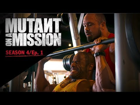 MUTANT ON A MISSION - Dave Fisher's Powerhouse Gym, Torrence CA