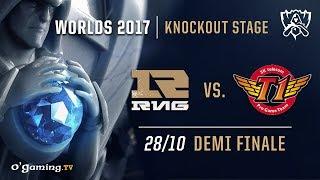 Video RNG vs SKT T1 - World Championship 2017 - Demi finale - League of Legends download MP3, 3GP, MP4, WEBM, AVI, FLV September 2018