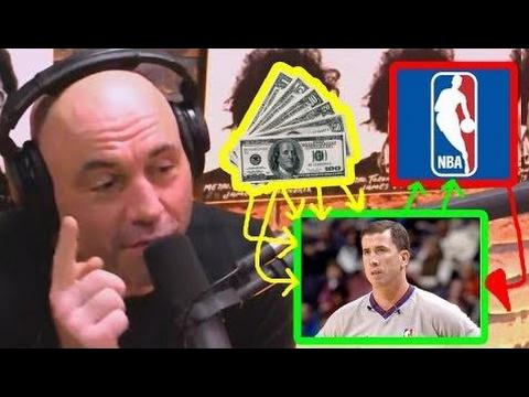 Joe Rogan about NBA Fixed Games! NBA Betting SCANDAL!