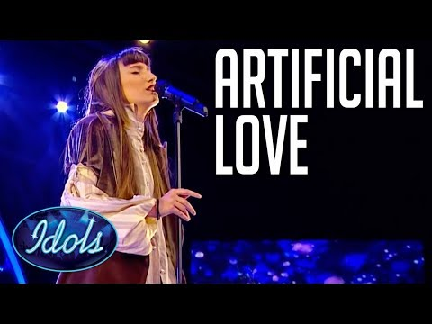 Amazing Singer Takes On Artificial Love   Idols Global