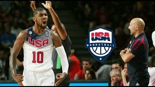 Kyrie Irving Team USA Gold Medal Game Full Highlights vs Serbia 2014.9.14 - 26 Pts, GOD MODE!!!