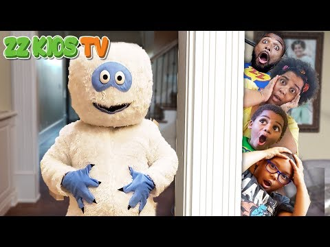Get Out! (Abominable Snowman Dude Invades ZZ Kids House)