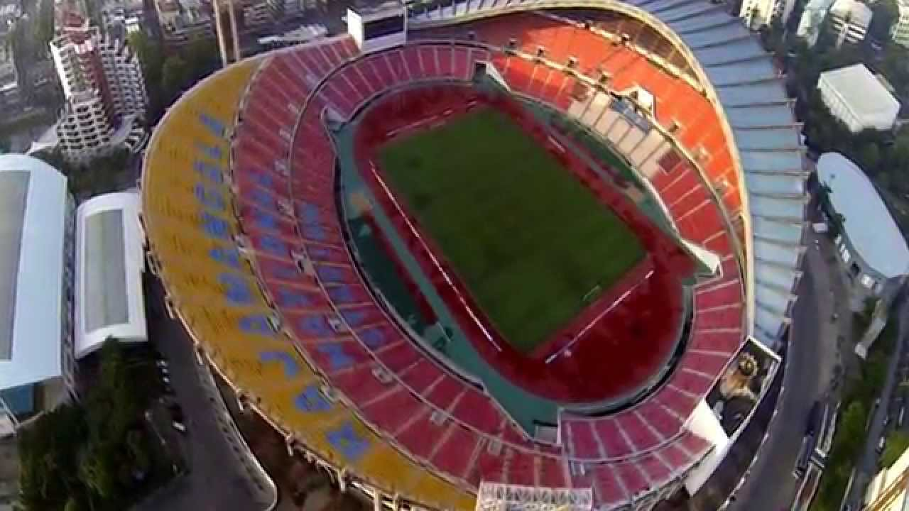 Load Test Of Roof Girder At Rajamangala National Stadium