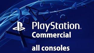 COMMERCIAL PS1, PS2, PS3, PS4, PSP, PSVITA TODOS SUS ANUNCIOS DE TV!!!
