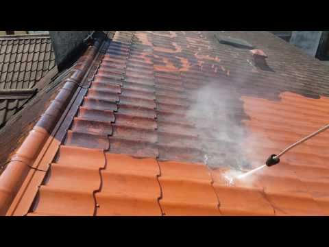 Czyszczenie mycie dachu blacho dachówki www.ekologicznyserwis.pl