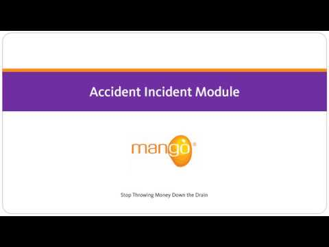 Mango - Accident Incident Module
