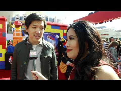 Dan Lin At The Lego Movie Premiere!