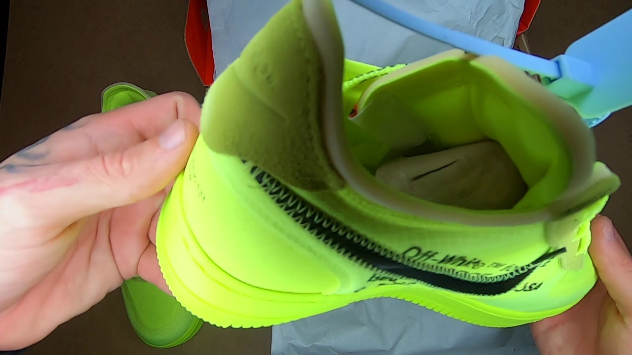 NIKE x OFF WHITE VOLT UNBOXING FROM