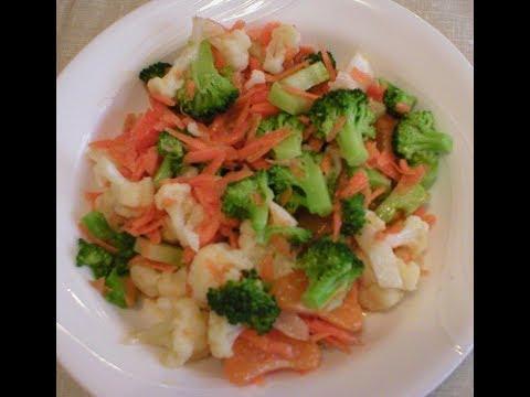 broccoli-cauliflower-orange-salad