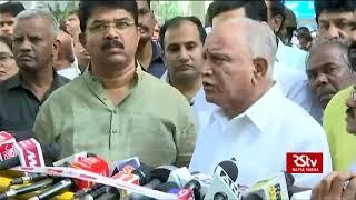 B S Yeddyurappa condoles the death of Ananth Kumar