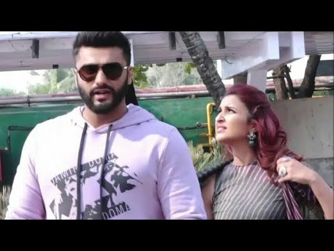 Arjun Kapoor And Parineeti Chopra Snapped Together Today 5 Oct 2018