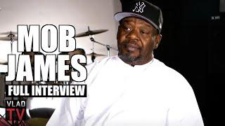 Mob James on 2Pac, Suge Knight, Eazy-E, Lil Wayne, Akon, MC Eiht, Dave East, Faizon (Full Interview)