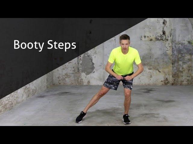 Booty Steps - hoe voer ik deze oefening goed uit?