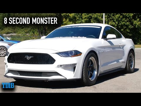 1200HP TWIN TURBO Mustang GT Review! 8 Second Car ON THE STREET!