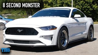 1200 HP TWIN TURBO 10 SPEED Mustang GT Review! The Scariest Mustang EVER Built?