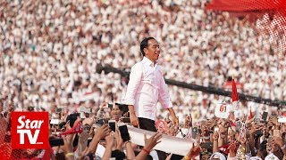 Official count gives Jokowi election victory