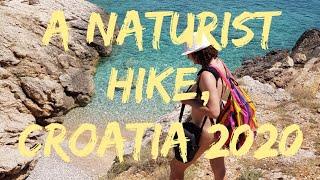 CROATIA NATURALLY - NAKED TREK to FKK BEACHES July 2020 (naturystyczny spacer po skałach)
