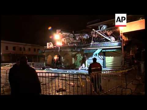 Morocco - Marrakesh bomb attack